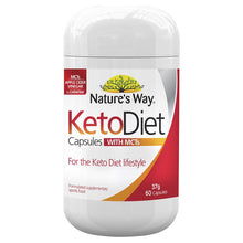 Load image into Gallery viewer, Nature's Way Keto Diet with MCTs 60 Capsules