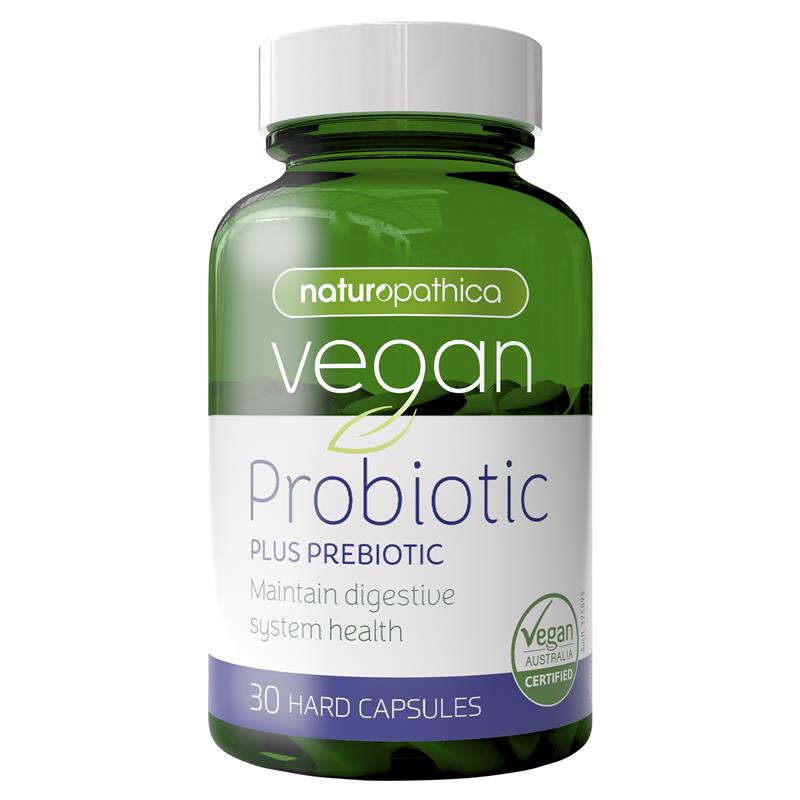 Naturopathica Vegan Probiotic Plus Prebiotic 30 Capsules