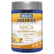 Load image into Gallery viewer, Bioglan Superfoods Maca 100 Tablets