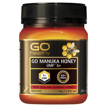 Load image into Gallery viewer, GO Healthy Manuka Honey UMF 5+ (MGO Healthy 83+) 1kg
