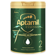 Load image into Gallery viewer, Aptamil Essensis Organic A2 Protein Stage 2 Follow On Formula 900g