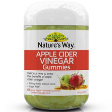 Load image into Gallery viewer, Nature's Way Apple Cider Vinegar 65 Gummies