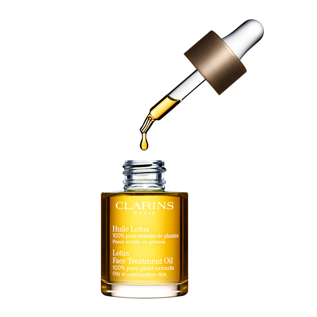 CLARINS Lotus Face Treatment Oil - Combination/Oily Skin 30mL