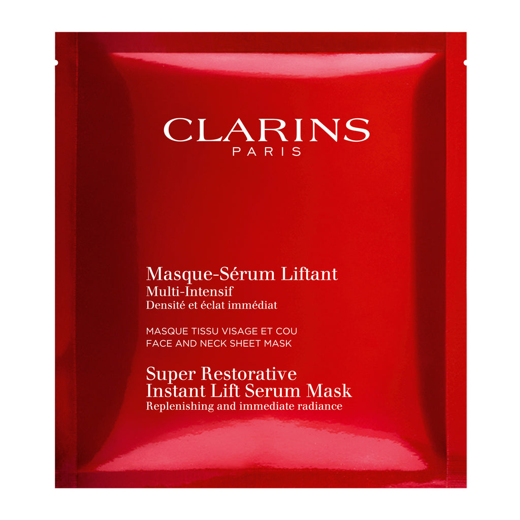 CLARINS Super Restorative Instant Lift Serum-Mask 5 PC