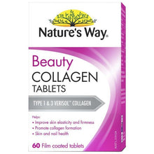 Load image into Gallery viewer, Nature's Way Beauty Collagen Booster 60 Tablets