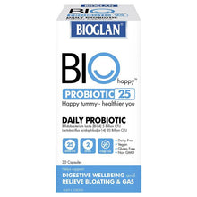 Load image into Gallery viewer, Bioglan Biohappy Probiotic 25 Billion 30 Capsules