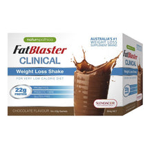 Load image into Gallery viewer, Naturopathica Fatblaster Clinical Chocolate Shake 18 x 53g