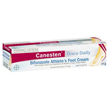 Load image into Gallery viewer, Canesten Once Daily Bifonazole Athlete's Foot Cream 20g (Limit of ONE per Order)