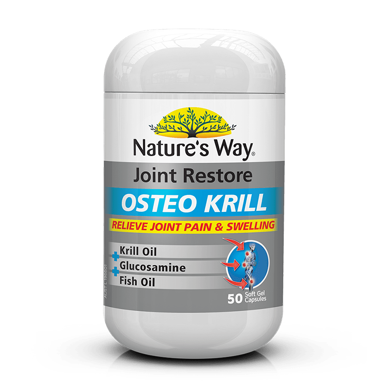 Nature's Way NATURES WAY JOINT RESTORE OSTEO KRILL Oil 50 Capsules