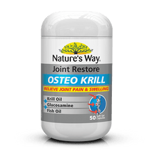 Load image into Gallery viewer, Nature's Way NATURES WAY JOINT RESTORE OSTEO KRILL Oil 50 Capsules