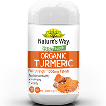 Load image into Gallery viewer, Nature's Way Superfoods TURMERIC TABS 1000mg 60s
