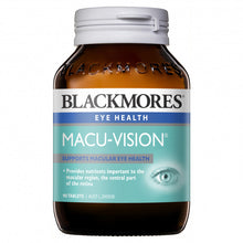 Load image into Gallery viewer, Blackmores Macu Vision 90 Tablets