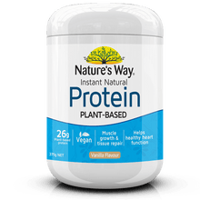 Load image into Gallery viewer, Nature's Way Instant Natural Protein Powder Vanilla 375g