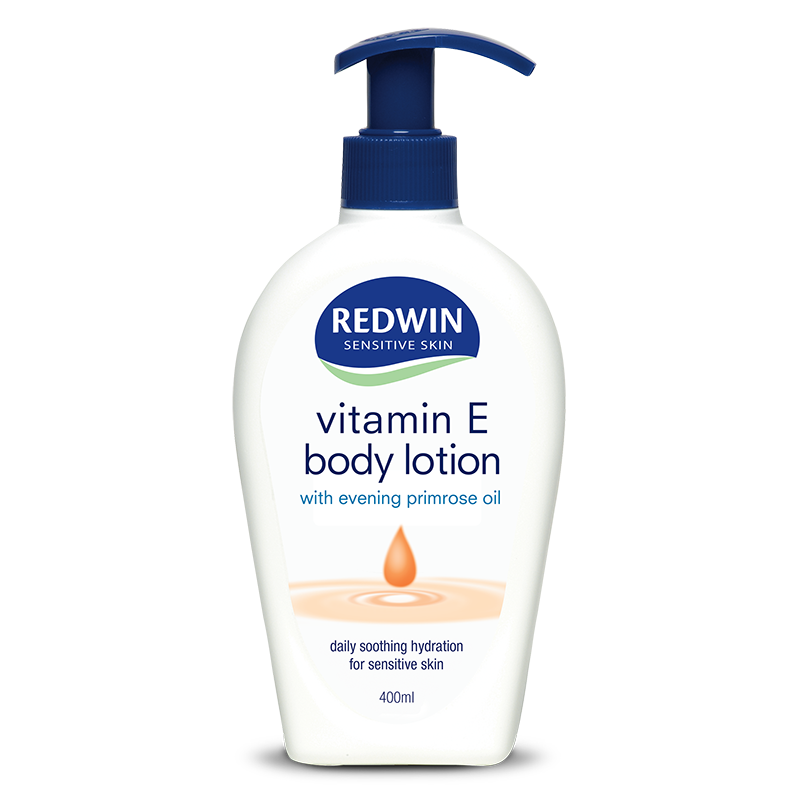 Redwin Body Lotion with Vitamin E and Evening Primrose Oil 400ml Pump