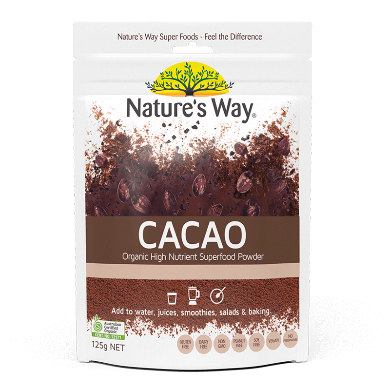 Nature's Way Superfoods CACAO POWDER 125g