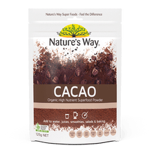 Load image into Gallery viewer, Nature's Way Superfoods CACAO POWDER 125g