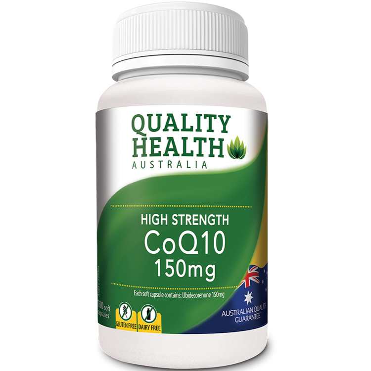 Quality Health High Strength CoQ10 150mg 100s