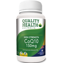 Load image into Gallery viewer, Quality Health High Strength CoQ10 150mg 100s