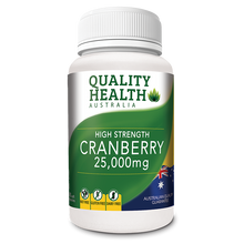 Load image into Gallery viewer, Quality Health Cranberry 25,000mg 60s