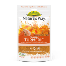 Load image into Gallery viewer, Nature's Way Superfoods Organic Turmeric Powder 100g