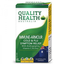 Load image into Gallery viewer, Quality Health Immune Armour 60 Tablets