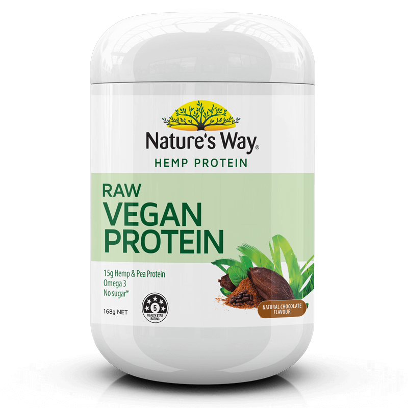 Nature's Way Superfoods HEMP PROTEIN RAW VEGAN CHOCOLATE 168g
