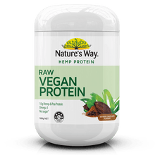 Load image into Gallery viewer, Nature's Way Superfoods HEMP PROTEIN RAW VEGAN CHOCOLATE 168g