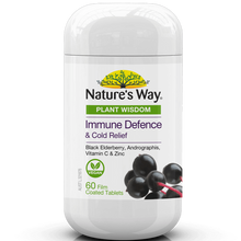Load image into Gallery viewer, Nature's Way Plant Wisdom Immune Defence 60 Tablets