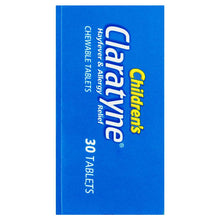 Load image into Gallery viewer, Claratyne Children's Hayfever & Allergy Relief Antihistamine Bubblegum Flavoured 30 Chewable Tablets (Limit of ONE per Order)