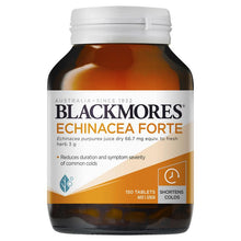 Load image into Gallery viewer, Blackmores Echinacea Forte 150 Tablets