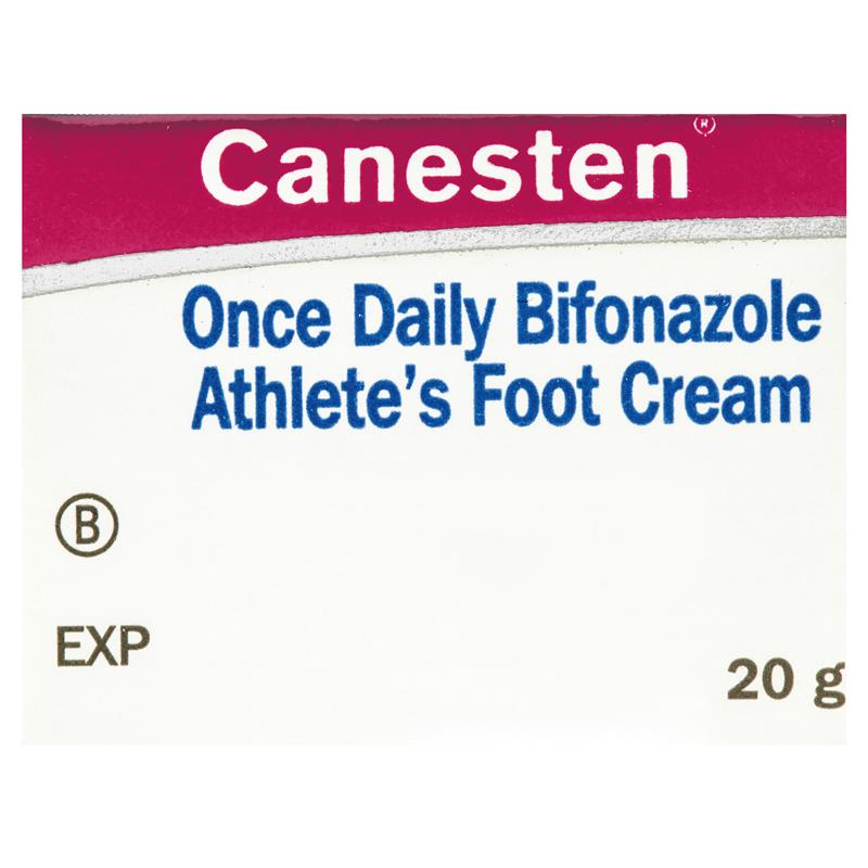 Canesten Once Daily Bifonazole Athlete's Foot Cream 20g (Limit of ONE per Order)
