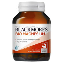 Load image into Gallery viewer, Blackmores Bio Magnesium 100 Tablets
