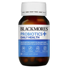 Load image into Gallery viewer, Blackmores Probiotics + Daily Health 30 Capsules