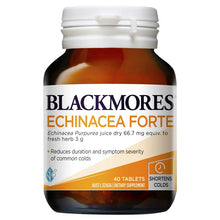 Load image into Gallery viewer, Blackmores Echinacea Forte 40 Tablets