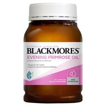 Load image into Gallery viewer, Blackmores Evening Primrose Oil 190 Capsules