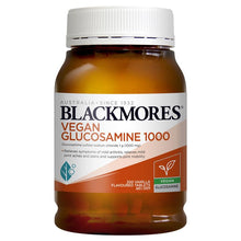 Load image into Gallery viewer, Blackmores Vegan Glucosamine 1000 200 Tablets