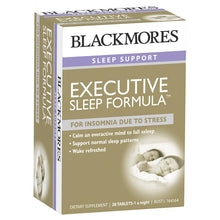 Load image into Gallery viewer, Blackmores Executive Sleep Formula 28 Tablets