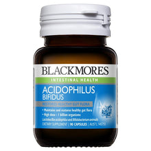 Load image into Gallery viewer, Blackmores Acidophilus Bifidus 90 Capsules