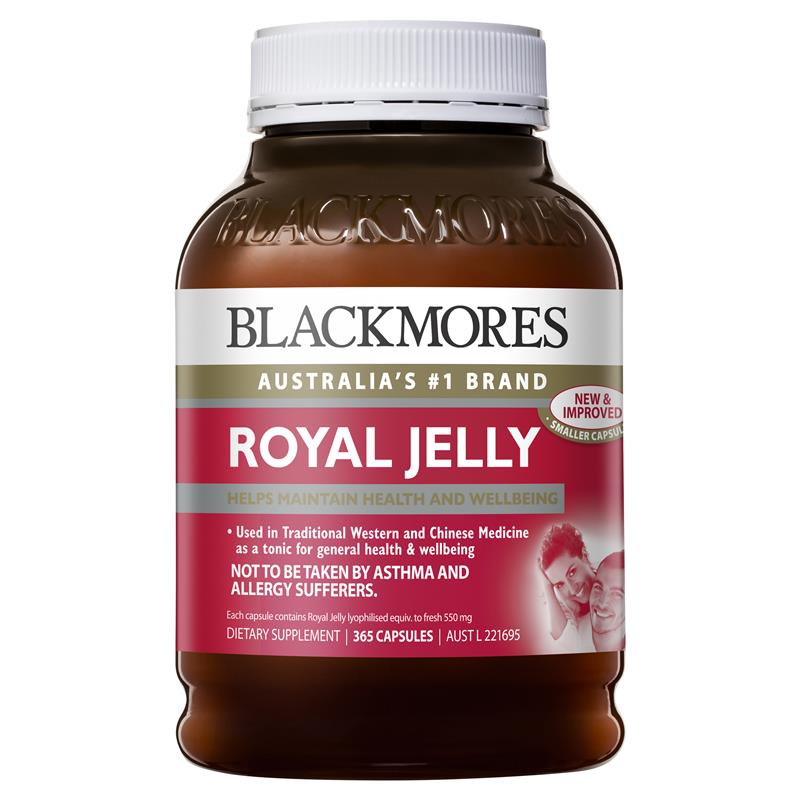Blackmores Royal Jelly 365 Capsules