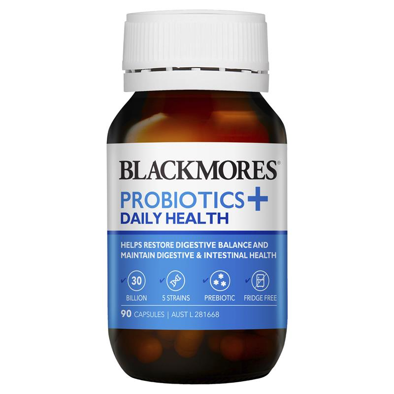 Blackmores Probiotics + Daily Health 90 Capsules