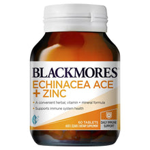 Load image into Gallery viewer, Blackmores Echinacea ACE+Zinc 60 Tablets