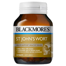 Load image into Gallery viewer, Blackmores Hyperiforte St Johns Wort 1800mg 90 Tablets