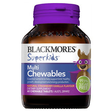 Load image into Gallery viewer, Blackmores Superkids Multi 60 Chewables