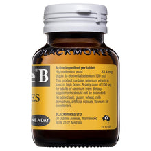 Load image into Gallery viewer, Blackmores Selemite B 100mcg 100 Tablets