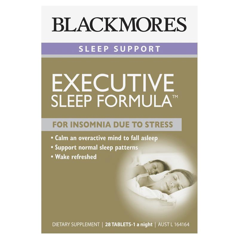 Blackmores Executive Sleep Formula 28 Tablets