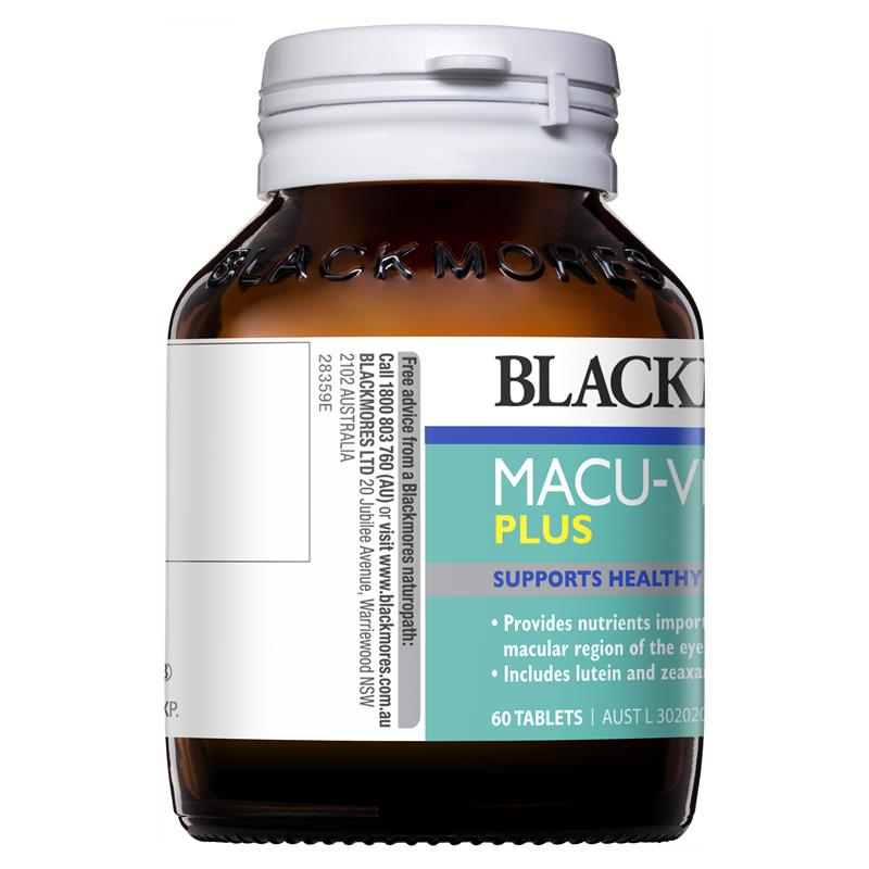Blackmores Macu Vision Plus 60 Tablets