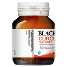 Load image into Gallery viewer, Blackmores Curcumin One A Day 30 Capsules