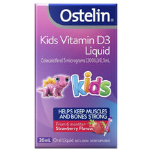 Load image into Gallery viewer, Ostelin Kids Vitamin D3 Liquid 20ml