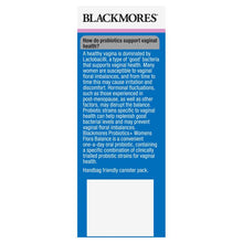 Load image into Gallery viewer, Blackmores Probiotics + Womens Flora Balance 30 Capsules