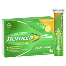 Load image into Gallery viewer, Berocca Performance Orange 45 Effervescent Tablets